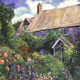 Cottage Gardens by David Lloyd Glover