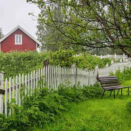 Cottage in the Rain by Debra and Dave Vanderlaan