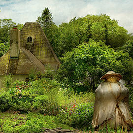 Cottage - Mother nature's garden by Mike Savad