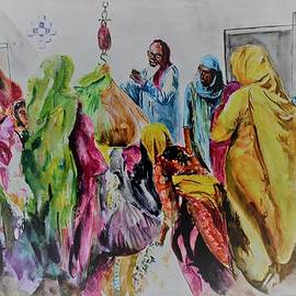 Cotton season activity by Khalid Saeed