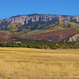 Courthouse Mountain To Baldy Peak - San Juan Large Panorama Pt1 by James BO Insogna