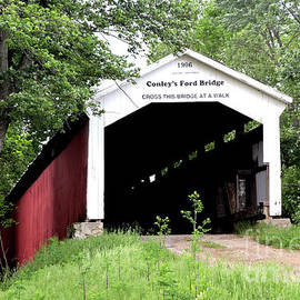 Covered Bridge IN by Dwight Cook