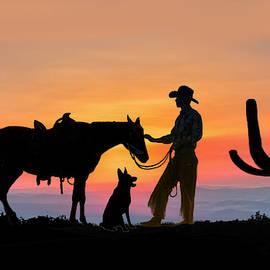 Cowboy Companions by Glenn Holbrook