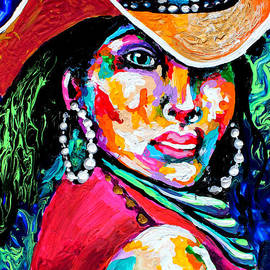 Cowgirl bling tile two by Pechez Sepehri