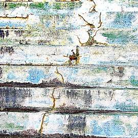 Cracked Stone Steps by Cynthia Guinn
