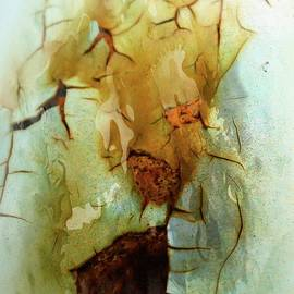 Cracks On The Surface by Marcia Lee Jones