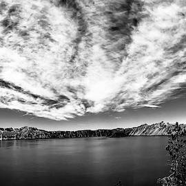 Brian Smith - Crater Lake Black and White