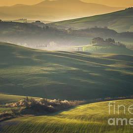 Crete Senesi Landscape in Tuscany