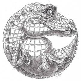 Crocodile by Victor Molev