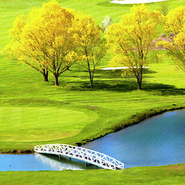 Crooked River Ranch Golf Canvas Print, Photographic Print, Art Print, Framed Print, Greeting Card, by David Millenheft