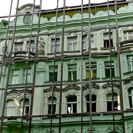 Crossroads In Prague by Ira Shander