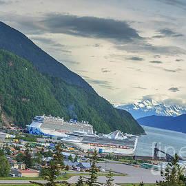Cruise Ships At Skagway by Robert Bales