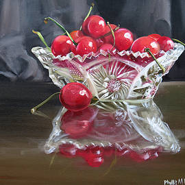 Phyllis Beiser - Crystal And Cherries