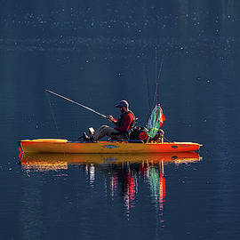 Crystal Lake Morning by John Haldane