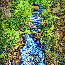 Crystalline Flow by Joel Bruce Wallach
