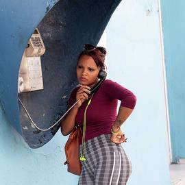 Cuban Street Telephone