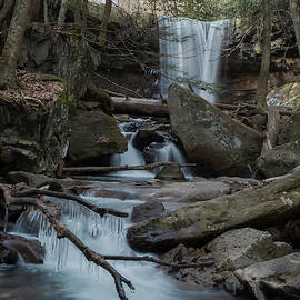 Cucumber Falls Area by Michael Hills