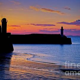 Cumbrian Sunset At Whitehaven by Martyn Arnold