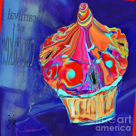 Cupcake Merry Go Round by Zsanan Studio