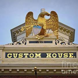 Custom House Eagle by Tru Waters