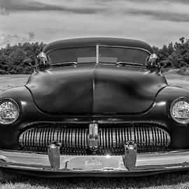 Customized 1950 Mercury In Bw by Ken Morris