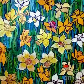 Daffodils 1998 by A Hillman