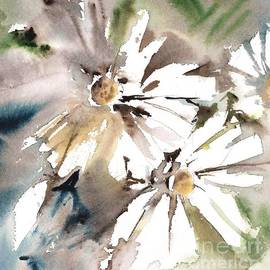 Daisies Light by Mindy Newman