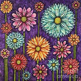 Daisy Tapestry by Amy E Fraser
