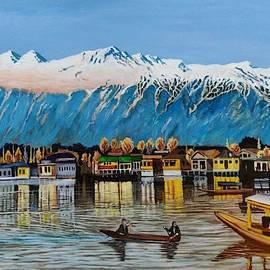 Dal Lake Kashmir by Ramesh Mahalingam