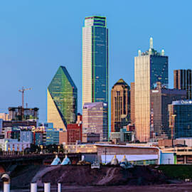 Dallas Skyline 061719 by Rospotte Photography