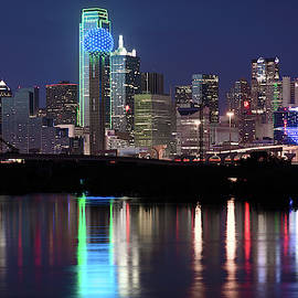 Dallas Texas Skyline 091019 by Rospotte Photography