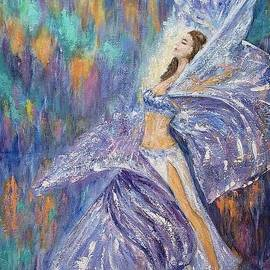 Dancing Anastasia by Olga Malamud-Pavlovich