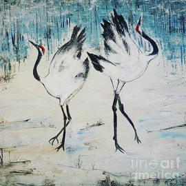 Dancing Cranes by Patty Donoghue