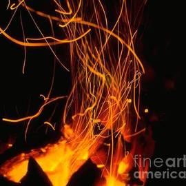 Dancing Flames by Belinda Threeths