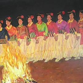 Dancing by Lamei Lepschy Bian