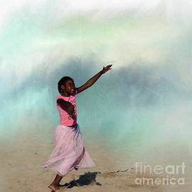 Dancing on the Beach by Eva Lechner
