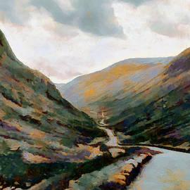 Dark And Moody Honister Pass In Cumbria by Menega Sabidussi