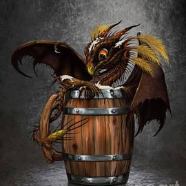Dark Beer Dragon by Stanley Morrison