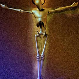 Dark Christ Robot by Joaquin Abella