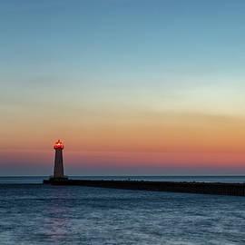 Dawn At Sodus Point by Rod Best