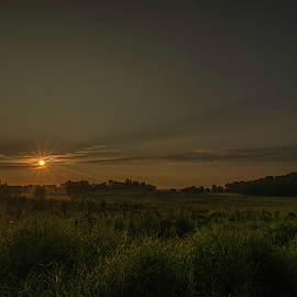 Dawn at the End of Summer by Jeff Oates Photography