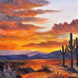 Dawn In The Southwest by Lee Piper