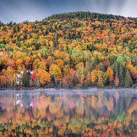 Dawn Of Autumn In Canada by Pierre Leclerc Photography