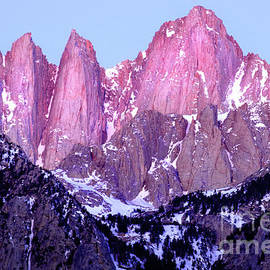 Dawn's Early Light, Mount Whitney by Douglas Taylor
