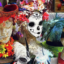 Day of the Dead Mask by Susan Savad