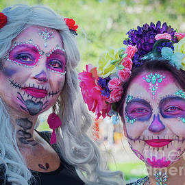 Day Of The Dead Pink by Robin Zygelman