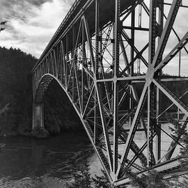 Deception Pass Bridge by Jerry Abbott