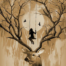 Deer dream 01 by Gull G