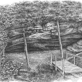 Deer Lick Cave - Cleveland Metroparks by Kelli Swan