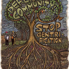 Defend Community by Ricardo Levins Morales